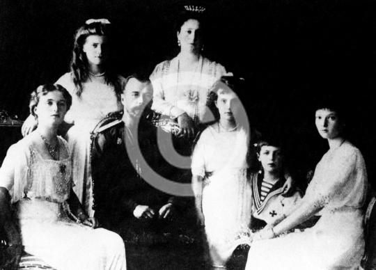 Zar Alexander III. und seine Familie